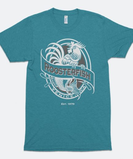 Roosterfish Tri-Evergreen Vintage Tee