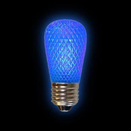 Blue Venice Pride Sign Light Bulb