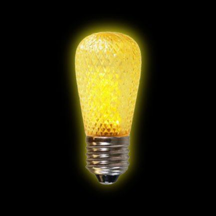 Yellow Venice Pride Sign Light Bulb