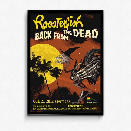 Roosterfish: Back From The Dead Commemorative Poster