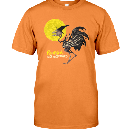 Roosterfish Back From The Dead Tee - Orange