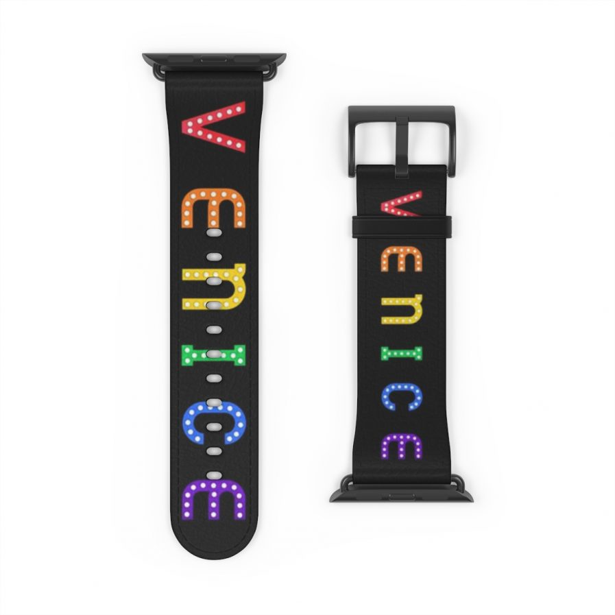 42mm Venice Pride Sign Double Rainbow Apple Watch Band