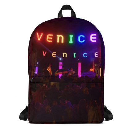 Venice Pride Sign Backpack