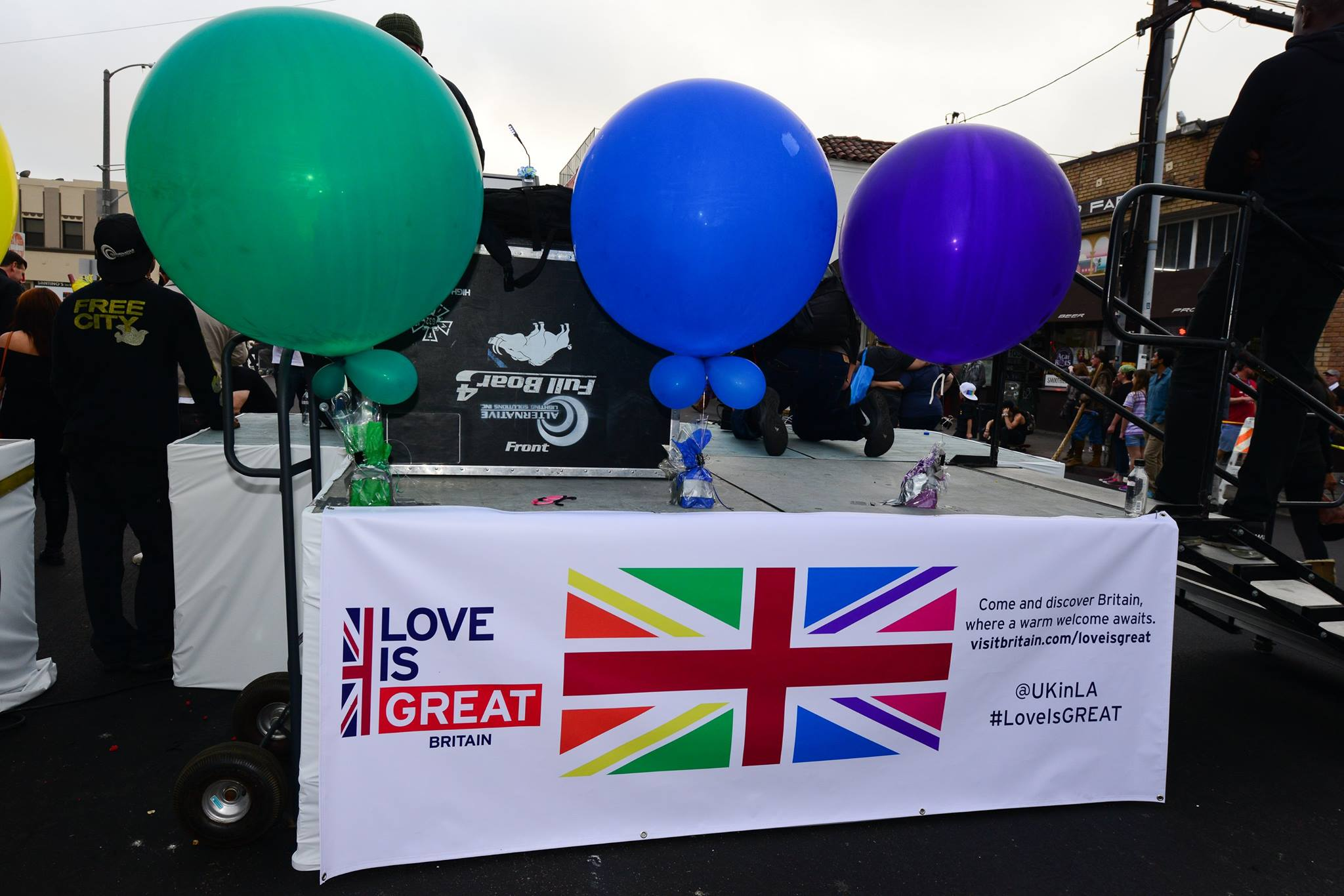 Great Britain's Love is GREAT campaign sponsored Venice Pride 2017