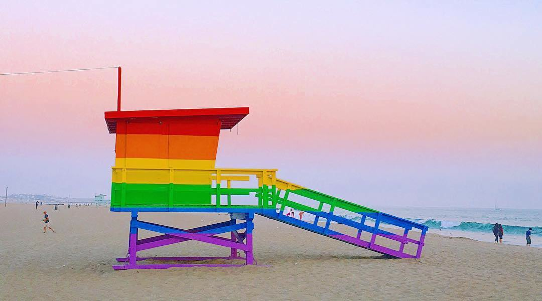 L.A. Weekly - Movement Launched to Save the Venice Pride Lifeguard Tower