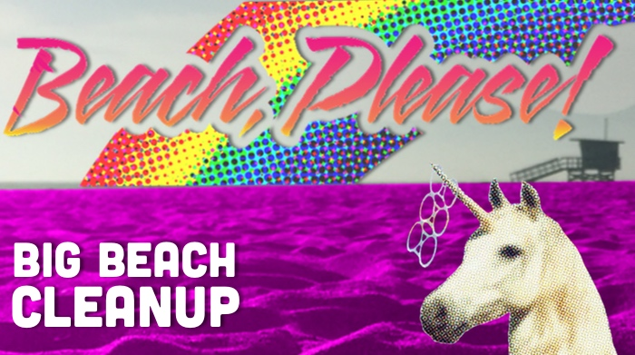 Beach, Please! Big Beach Cleanup